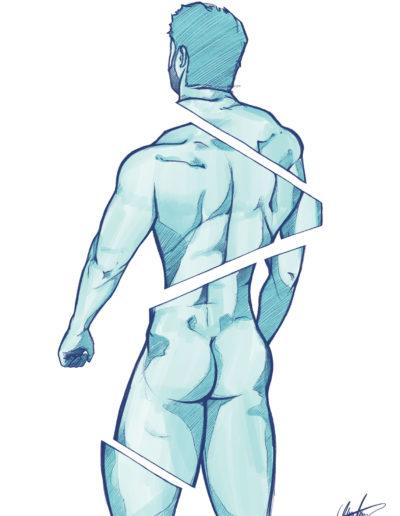 Nudo spalle